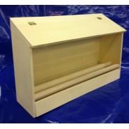 Mangeoire de volière en bois 36 cm
