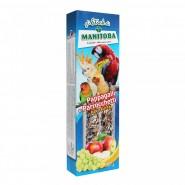 Manitoba-Bâton Enrobé pour perruches et perruquets 2 sticks