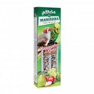 Manitoba-Bâton Enrobé pour Exotics perruches 2 sticks