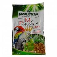 Manitoba-My Parrots Unico extrudés 2Kg