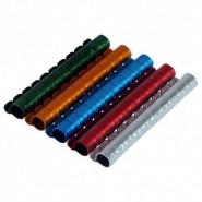 Bague en aluminium ouvertes de divers couleur callopsittes 6mm