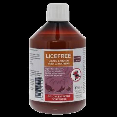 Licefree Liquide pour le mites de oiseaux 500ml