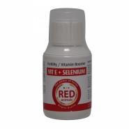 Vitamine E + Selenium 100ml liquide (pour la fertilite) - Red Animals