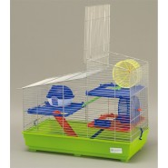 CAGE NERA POUR HAMSTER