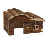 Maison en bois pour rongeurs Silvia